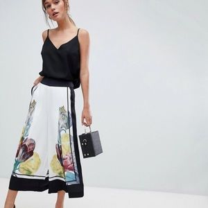 Ted Baker TRANQUILITY Wide Leg Crop Pant